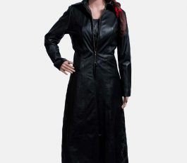 Female Leather Coat